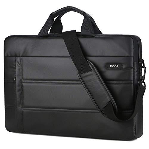 MOCA Compatible Laptop Sleeve Shoulder Messenger Hand Bag for 13 13.3 inch MacBook Air Pro Retina Hp Acer Dell Xps Lenovo Asus Toshiba 13 13.3 inch Laptop Bag (Black)