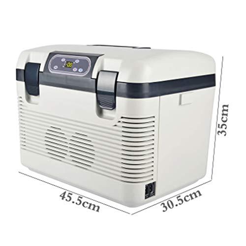 Auto Kühlschrank Auto Kühlbox 12V / 24V / 220V-240V, Auto/LKW/Haushalt Mini-Kühlschrank 19L Digitalanzeige Temperaturregelung