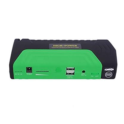 41X27MzsjQL. SS416  - Cnmodle - Batería de emergencia y arrancador portátil para coche, 400 A, 15000 mAh, batería externa con linterna de 3 LED, y USB doble para cargar el móvil, para iPhone, Samsung, iPad, Tablet, Sony, MP3 / MP4 y más