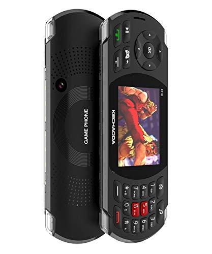 K110 2.8 HD LCD Spiel-Handy Doppelte Tastatur 2600mAh Errichtet in 100 klassischen Spielen Fackel Großer stichhaltiger Lautsprecher mit Erschütterung Doppel-SIM Karte ()