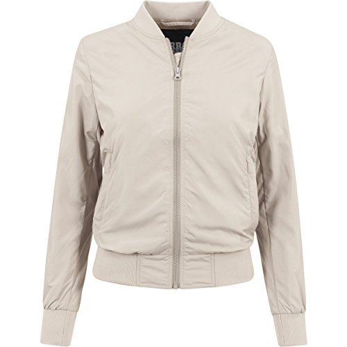 Urban Classics Ladies Light Bomber Jacket-Giacca Donna    sabbia XL