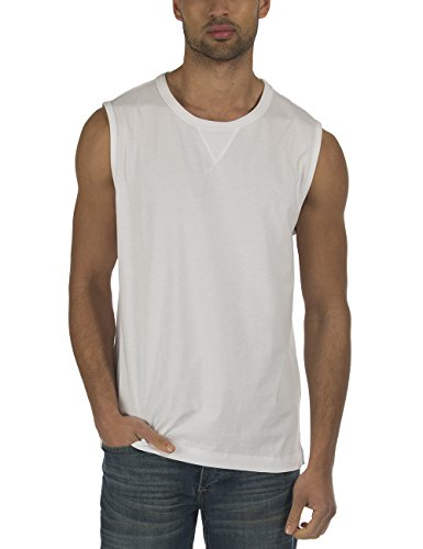 Bench MUSING-Tank Top Uomo    Weiß (Bright White WH001) Large