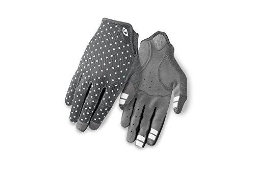Giro Damen LA DND Fahrradhandschuhe, Dark Shadow/White dots, XL -