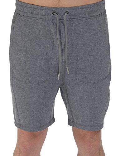 Bench, Pantaloni sportivi corti Uomo Maderno, Grigio (Stormcloud Marl), XX-Large (Tallia Produttore: XXL)