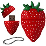 4GB Novelty Cute Strawberry USB 2.0 Flash Drive Data Memory Stick Device