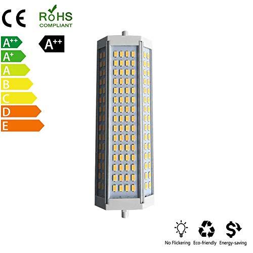 ZQYR Lamp# Dimmbar R7s LED 50W 189mm 230V Leuchtmittel Halogen Flutlicht Fassung ersetzt 500W Baustrahler Lampe Ersatz Halogenstab 3000K warmweiß bis neutralweiß,Whitelight
