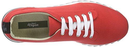 Jonny´s Vegan Mahola Damen Sneakers Rot (rojo)