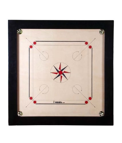 Carrom Board 8mm with Accessories  available at amazon for Rs.3299