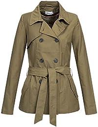 Only Onllucy Short Trenchcoat CC Otw, Abrigo para Mujer