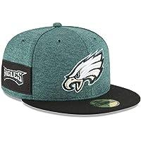 cb580454292 New Era Philadelphia Eagles NFL Sideline 18 Home On Field Cap 59fifty  Fitted OTC