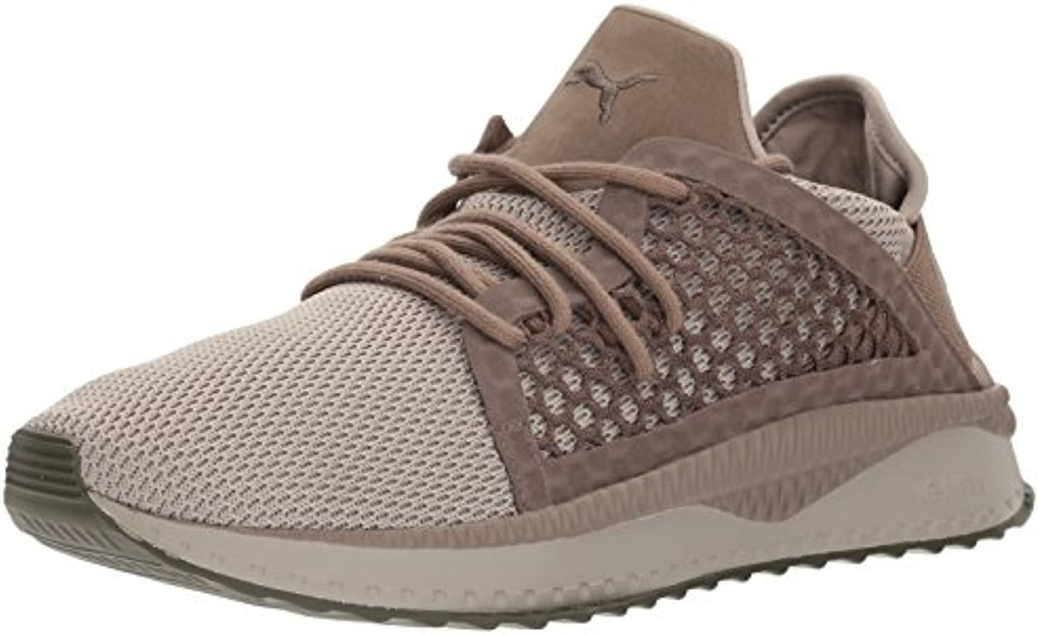 PUMA Men's Tsugi Netfit Sneaker  Rock Ridge Falcon Olive Night  7.5 M US
