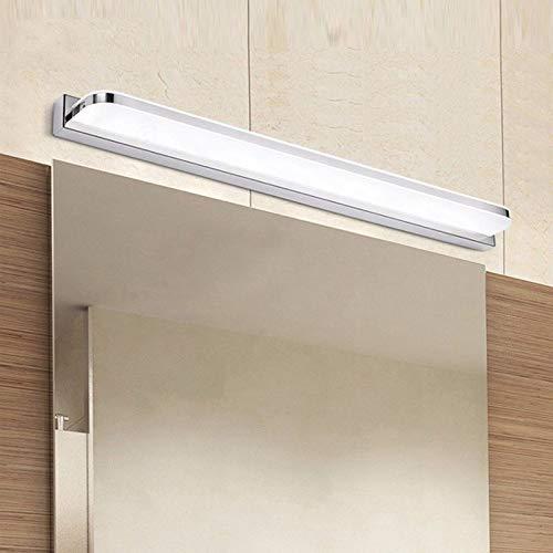 WYDM Badleuchte LED Spiegelleuchte 52cm 12W AC110-240V Wasserdichte moderne kosmetische Acryl Wandleuchte - Für Badezimmer Lichtbalken
