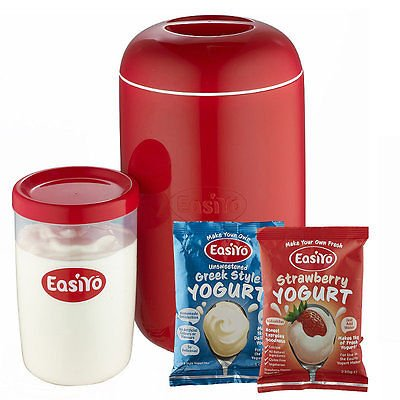 easiyo Starter-Set: EasiYo 1kg-Joghurtbereiter und 2 Beutel
