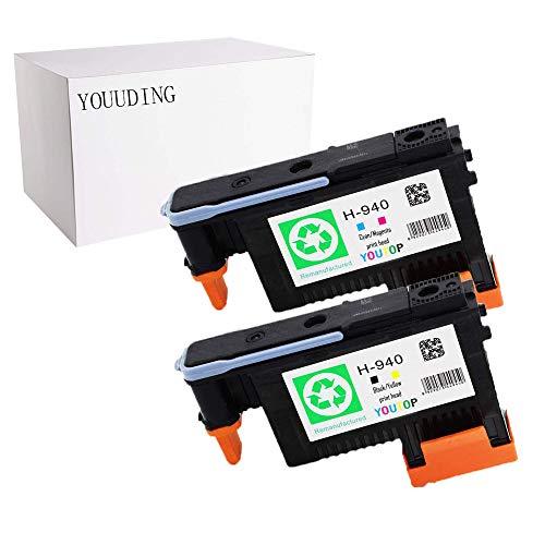 YOUDING Kombi-Sets für 940 Druckkopf C4900A für Officejet Pro 8000 8500 8500A 8500A Plus 8500A Premium