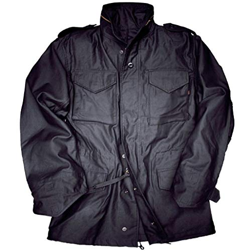 Alpha Industries M-65 Field Jacket, Größe:L;Farbe:black
