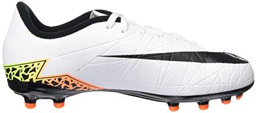 Nike Unisex-Kinder Jr Hypervenom Phelon Ii Fg Fußballschuhe Weiß (White/Black-Total Orange-Volt)