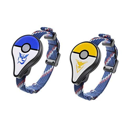 Slibrat 2pcs para Pokemon GO Plus Bluetooth pulsera para juguetes interactivos de Nintendo