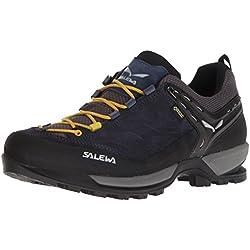 SALEWA Ms MTN Trainer GTX, Stivali da Escursionismo Uomo, Nero (Night Black/Kamille 0960), 44.5 EU