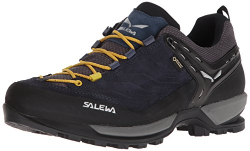 Salewa Herren MS MTN Trainer GTX Trekking- & Wanderhalbschuhe, Schwarz (Night Black/Kamille 0960), 42 EU Plus Gtx Boot