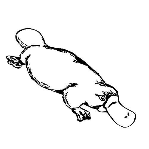 das-label Wandtattoo Tiere Schnabeltier