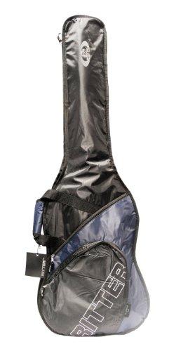 Ritter Junior Gitarrentasche 5 mm für E-Gitarre schwarz/ozeanblau