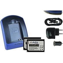 2 Baterìas + Cargador (USB/Coche/Corriente) ED-BP1030/BP1130 per Samsung NX200 NX210 NX300., v. lista