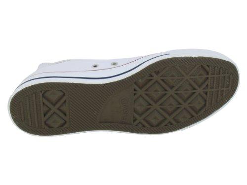 Converse Chuck Taylor Core Lea Hi, Unisex - Erwachsene Sneaker Weiss