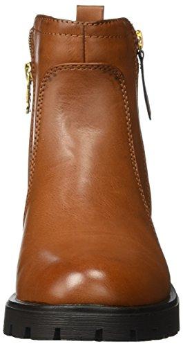 XTI Damen 047385 Biker Boots Beige (Camel)