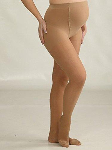 KOMPRESSIONSSTRUMPFHOSE für Schwangere, Umstands- Schwangerschafts- Stütz-Strumpfhose Schwarz