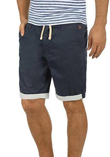 Blend Kankuro Herren Chino Shorts Bermuda Kurze Hose Mit Kordel Aus 100% Baumwolle Slim Fit, Größe:XL, Farbe:India Ink (70151)