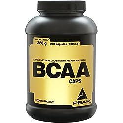 Peak BCAA Caps, 240 Kapseln
