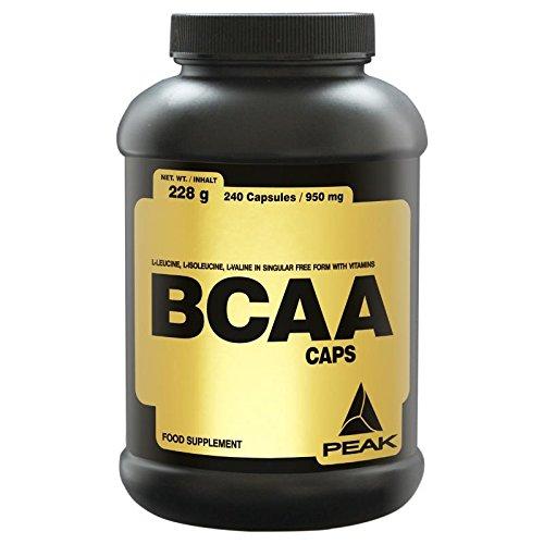 #Peak BCAA Caps, 240 Kapseln#