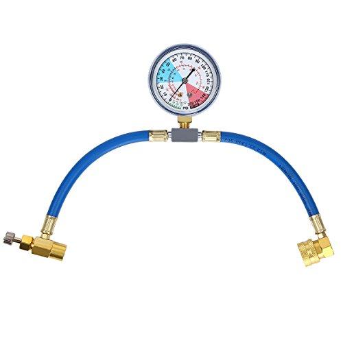 Preisvergleich Produktbild Latinaric R134a Klimaanlage Kältemittel Aufladung Messschlauch Aufladung Set mit Manometer