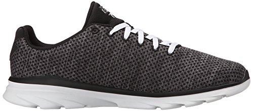 Skechers Go Fit Trprima, Baskets Basses femme Noir - Noir/blanc