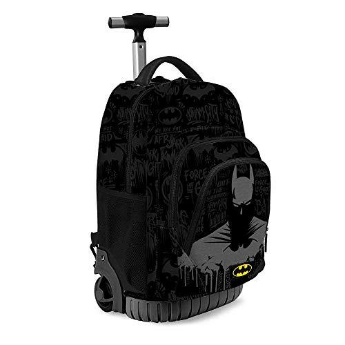 Karactermania Batman Gotham-GTS Travel Trolley-Rucksack Zaino Casual, 47 cm, 39.5 liters, Multicolore (Multicolour)