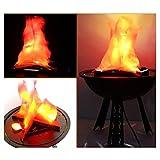 Décorations d'Halloween Led Lampe Bar Décoration Lumineuse Électronique Flamme Ktv...