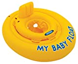 Intex- Baby Float Salvagente, Colore Giallo, 70x70x10 cm, 56585