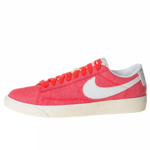 NIKE BLAZER LOW CANVAS 579760 800 DAMEN MODA SCHUHE ROSE 8,5 US - 40 IT (Frauen Nike Blazer Schuhe)