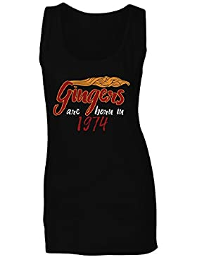 Los gingers nacen en 1974 camiseta sin mangas mujer c275ft