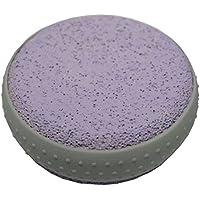 Bimsstein Massagestein Hornhautentfernung Fussmassage Fußpflege rund 80mm lila (0039) preisvergleich bei billige-tabletten.eu