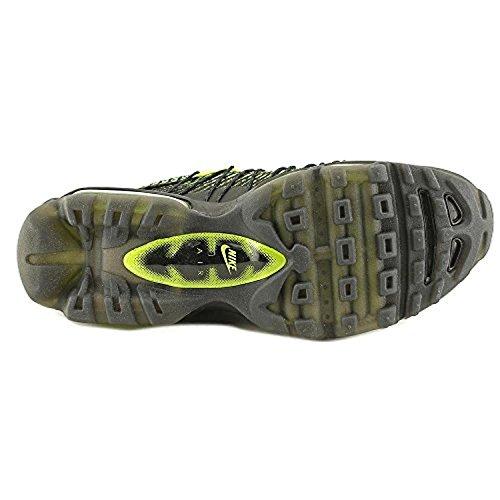 Nike Herren Air Max 95 Ultra Jcrd Laufschuhe, Grau, Talla WHITE/WHITE-WOLF GREY-DARK GREY