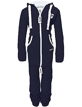 Gennadi Hoppe Kinder Jumpsuit Onesie Jogger Einteiler Overall Jogging Anzug Trainingsanzug