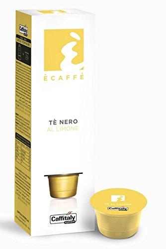 50 Capsule Te Nero al Limone Caffitaly System 64