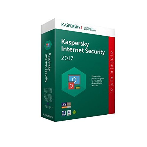 Kaspersky Internet Security Renovación 2017 - Software De Seguridad Y Antivirus, 3 Usuarios, 1 Año