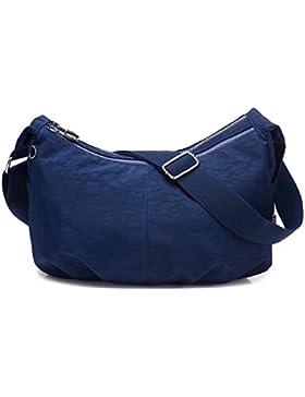Outreo Umhängetasche Kleine Schultertasche Leichter Wasserdicht Designer Messenger Bag Sporttasche Mode Taschen...