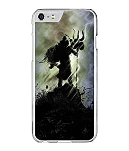 Dzinetree Devotional Series Printed Back Cover For Apple iPhone 6 - Black