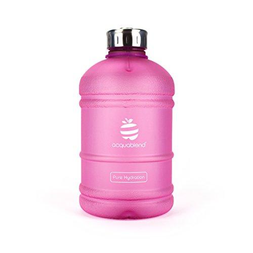 acquablend® Premium 1.9L Gym Wasser Flasche. Die ultimative Flasche in Pure Hydration, rose