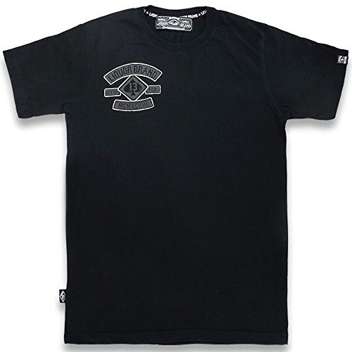 Liquor Brand Herren T-Shirt Reaper TSM-272 Schwarz