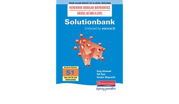 Solutionbank: Statistics 1 Student Edition: Student Edition 1