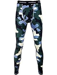 a0d6460da6362 COOLOMG compresión Pantalones Running Medias Longitud de los Pantalones de  Las Polainas para Jóvenes Muchacho de